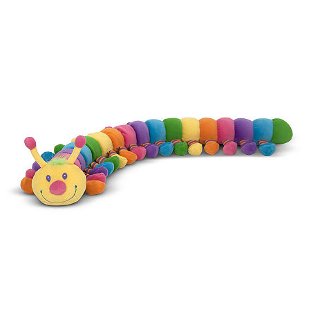 Melissa & Doug Longfellow Caterpillar Plush, One Size , Multiple Colors