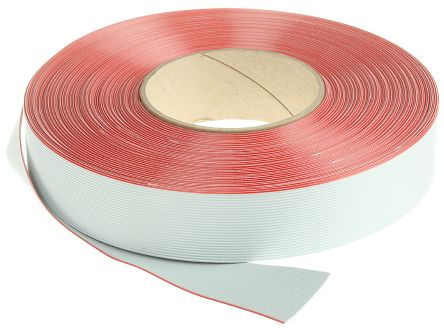 3M 26 Way Unscreened Flat Ribbon Cable, 33.02 mm Width, Series 3365, 30m