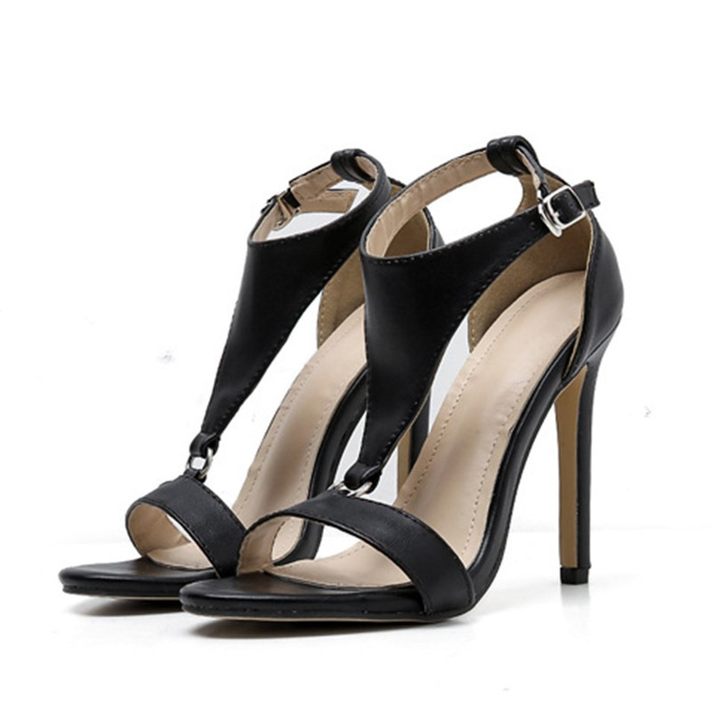 Ericdress Buckle Heel Covering Stiletto Heel Women's Sandals
