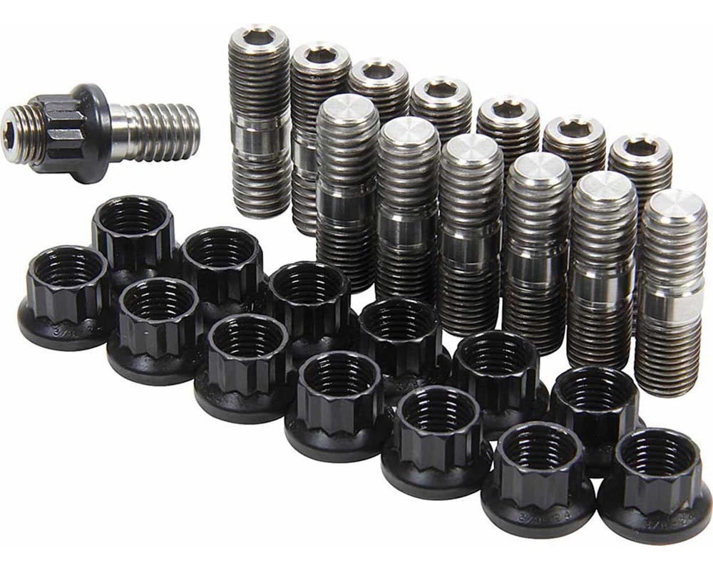 Allstar Performance ALL17010 Header Stud Kit Titanium  ALL17010
