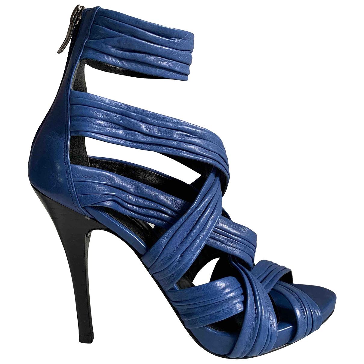 Stella Luna \N Pumps in  Blau Leder
