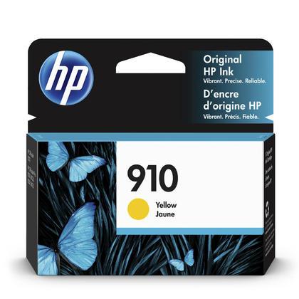 HP 910 3YL60AN cartouche d'encre originale jaune