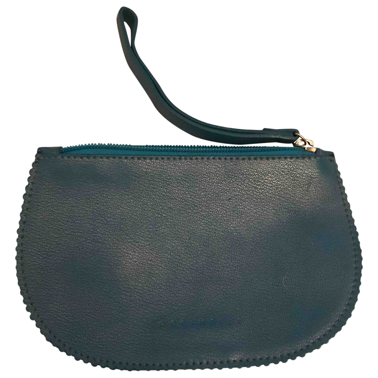 Coccinelle \N Kleinlederwaren in  Blau Leder