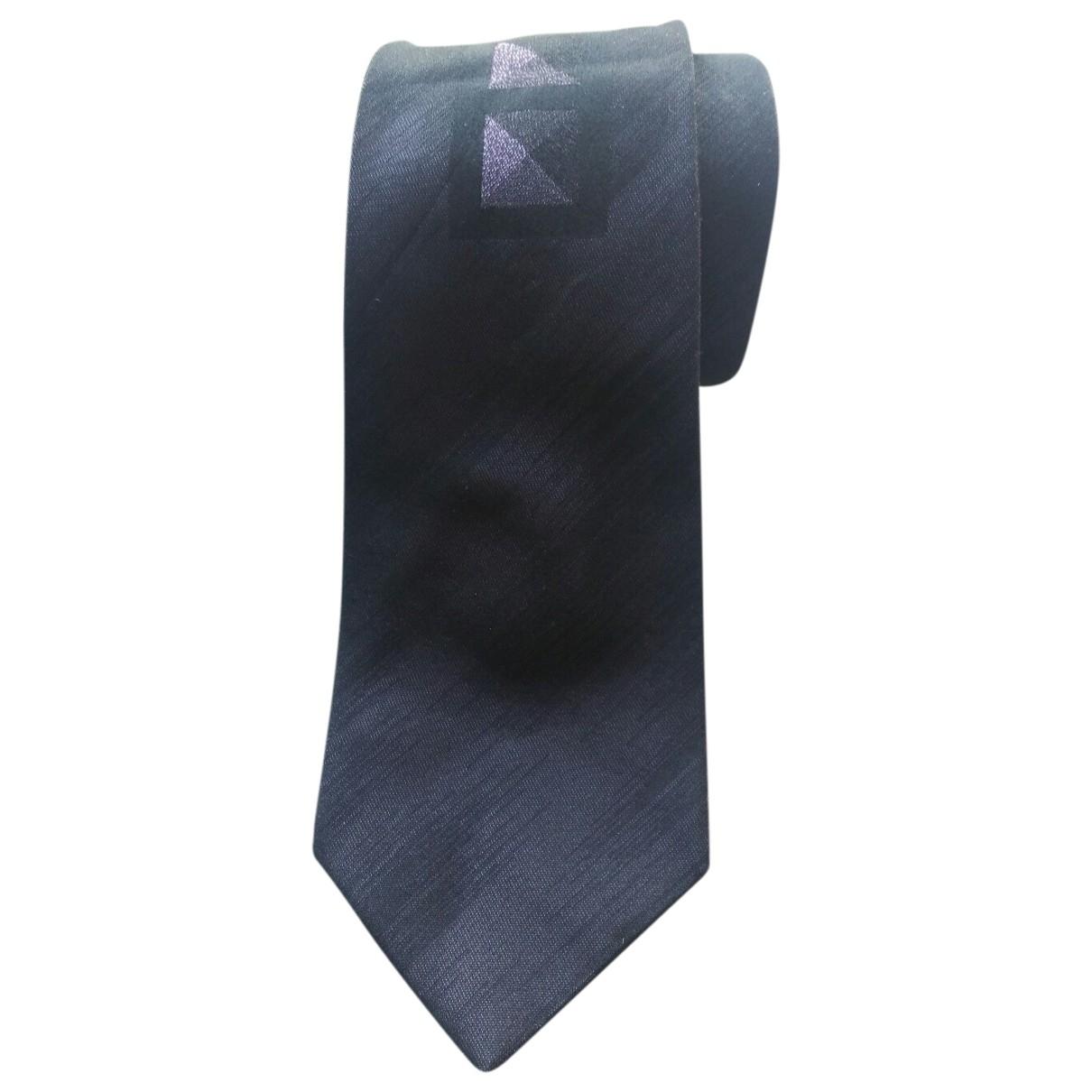 Gianni Versace \N Anthracite Silk Ties for Men \N