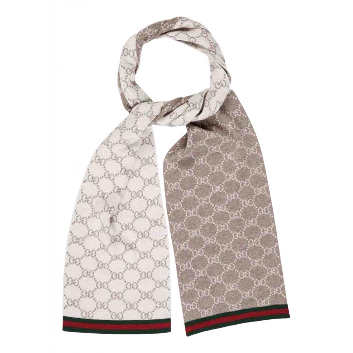 Gucci - Cheches.Echarpes   pour homme en laine - blanc