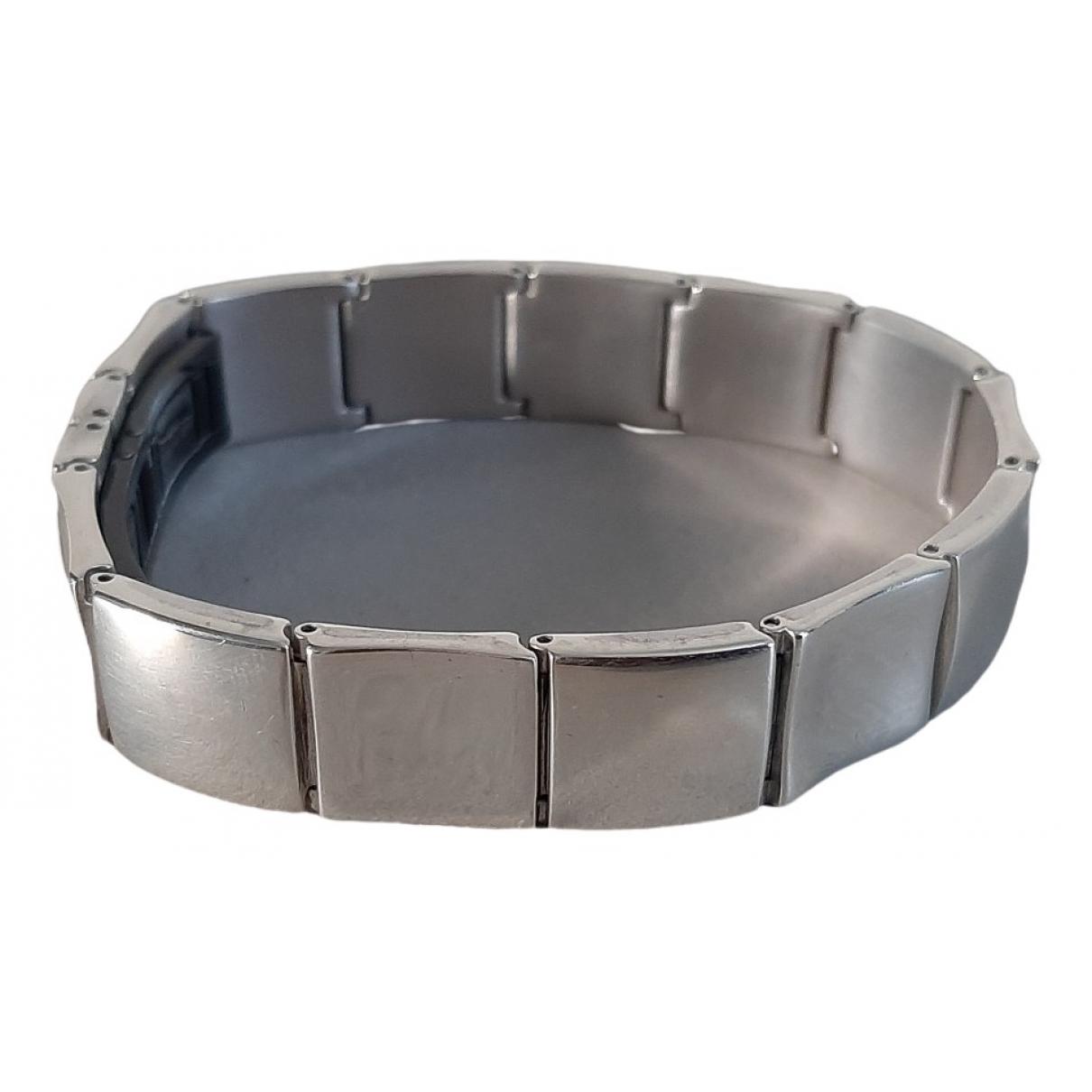 Yves Saint Laurent - Bracelet   pour femme en metal - argente