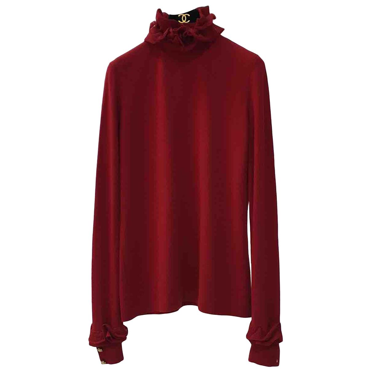 Chanel \N Red Wool Knitwear for Women 42 FR