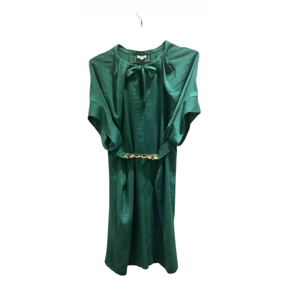 Hoss Intropia \N Kleid in  Gruen Viskose
