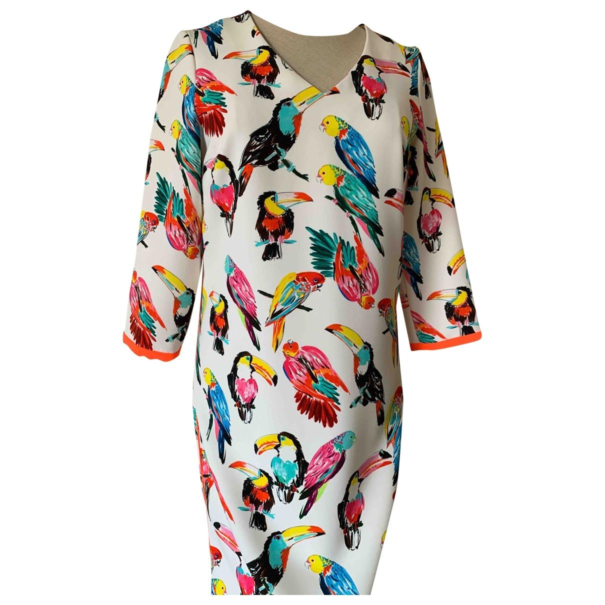 Xandres - Robe   pour femme en coton - multicolore