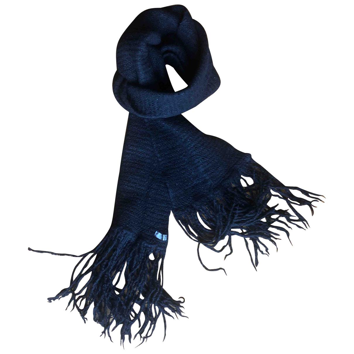 Dior \N Tuecher, Schal in  Schwarz Wolle