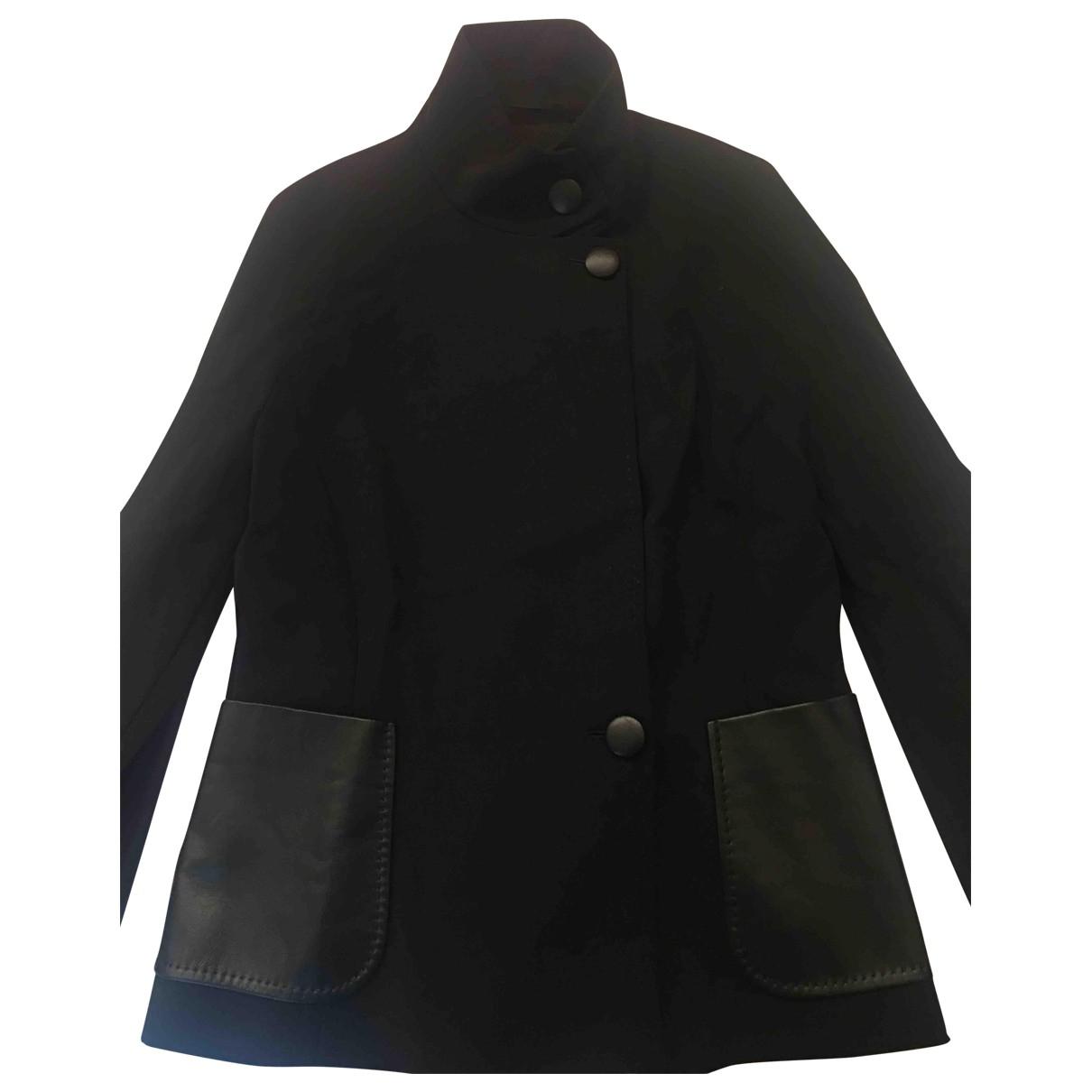 Max Mara \N Black Wool jacket for Women 44 IT