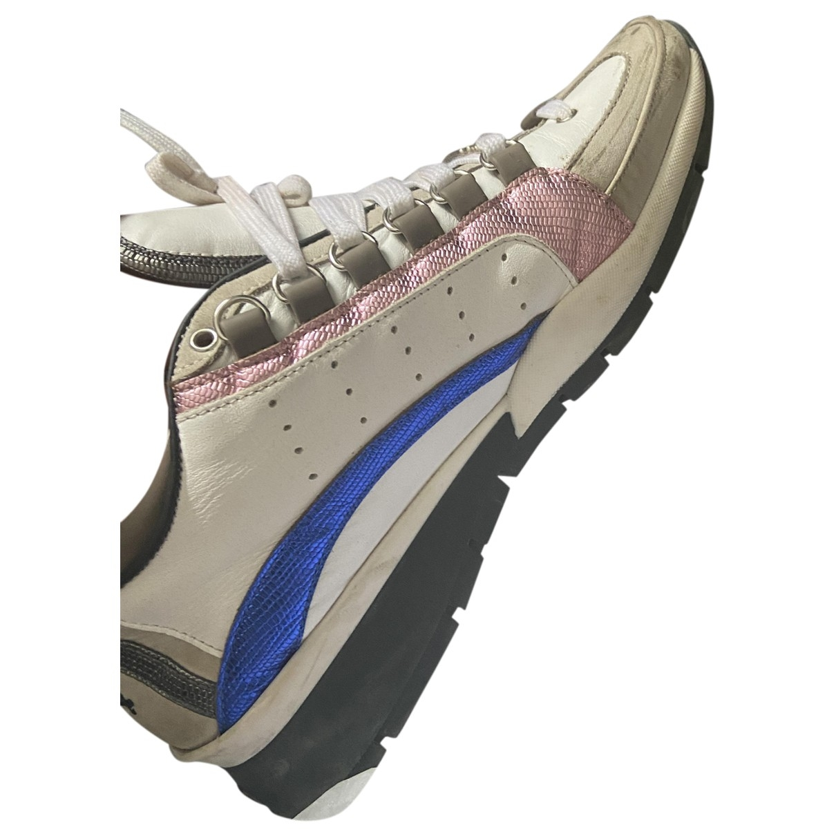 Dsquared2 \N Multicolour Leather Trainers for Women 41 EU