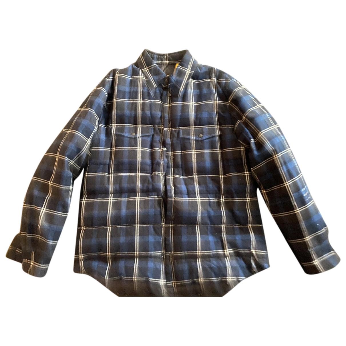 Moncler Genius - Vestes.Blousons Moncler n°7 Fragment Hiroshi Fujiwara pour homme en laine - bleu