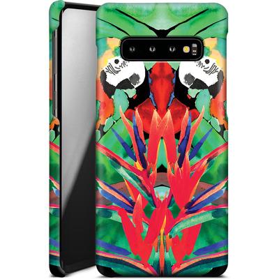 Samsung Galaxy S10 Smartphone Huelle - Parrot von Amy Sia