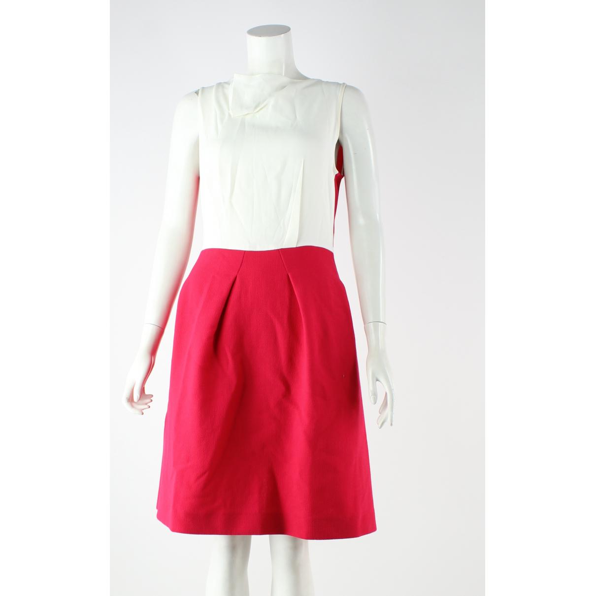Roland Mouret - Robe   pour femme en laine - rose