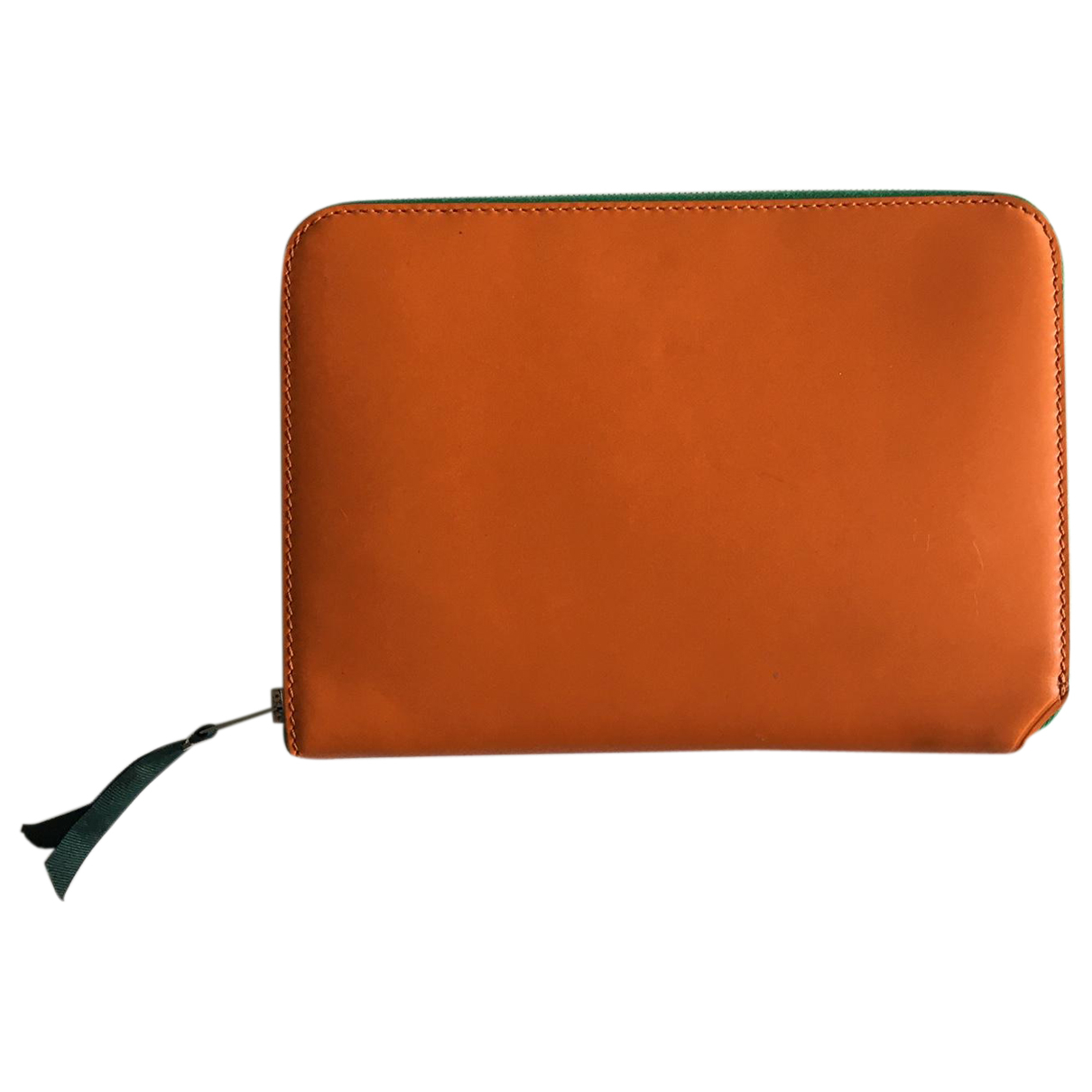 Acne Studios - Petite maroquinerie   pour femme en cuir - orange