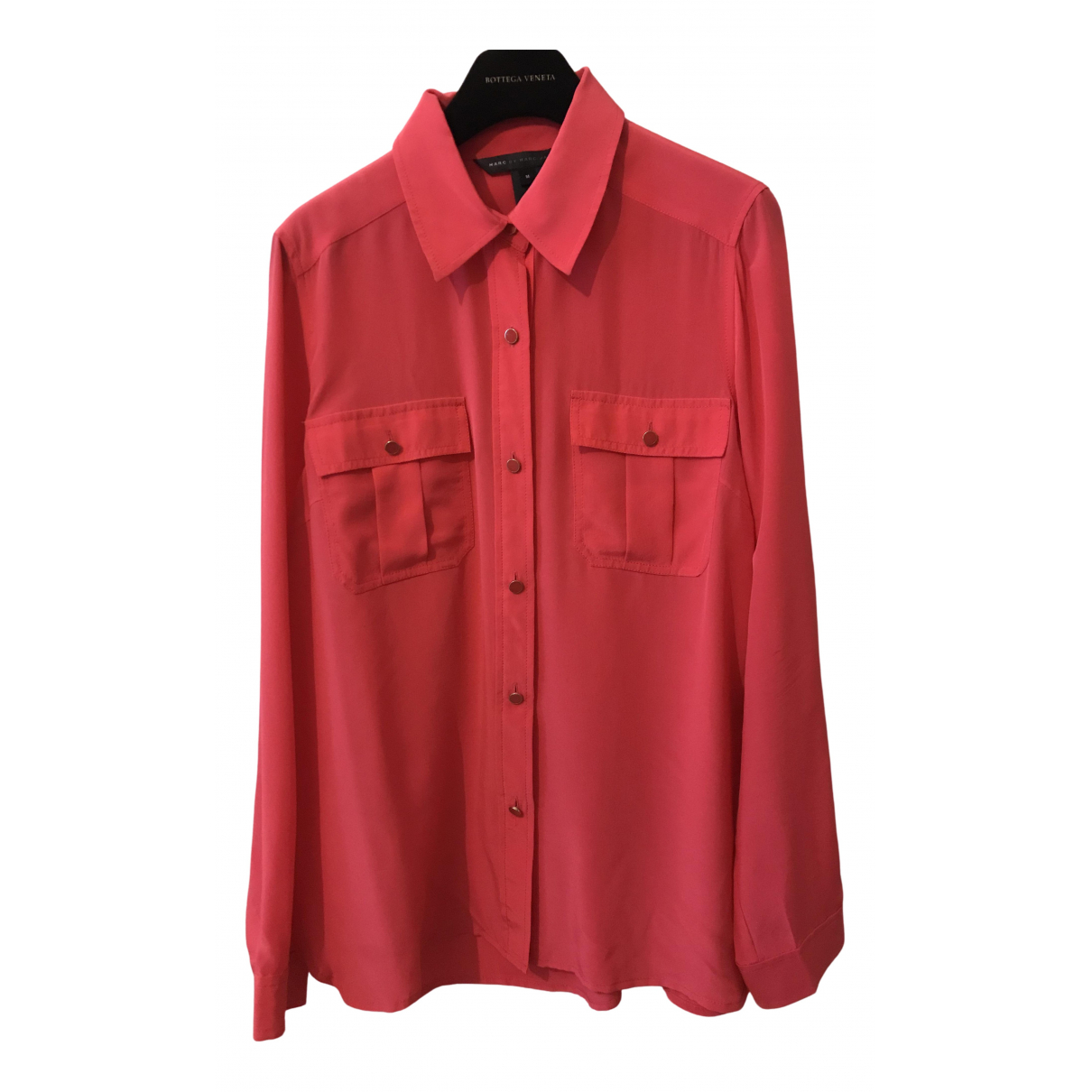 Marc By Marc Jacobs \N Pink Silk  top for Women 40 FR