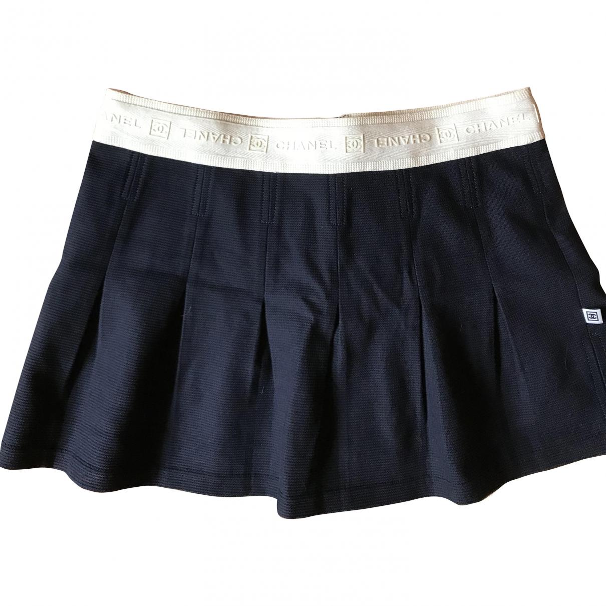 Chanel \N Blue Cotton skirt for Women S International