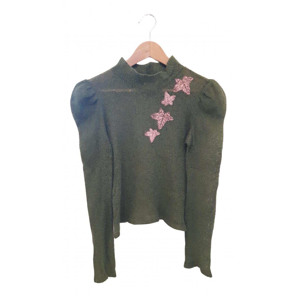 Versace Jean - Pull   pour femme en laine - vert