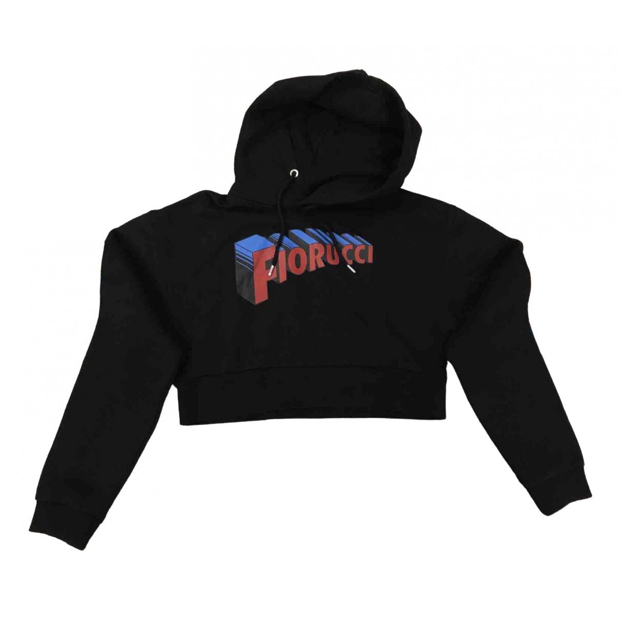 Fiorucci \N Black Cotton Knitwear for Women L International