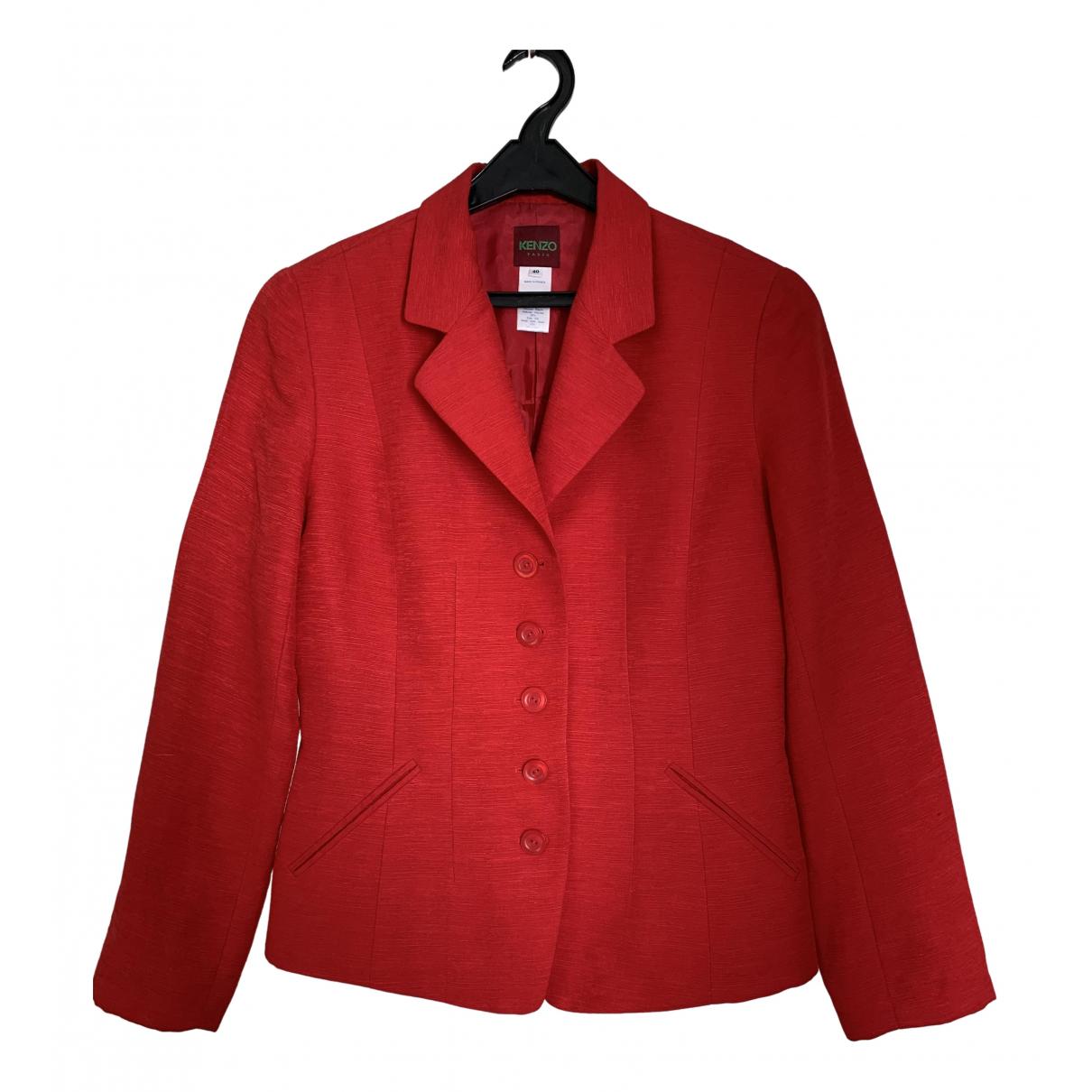 Kenzo - Veste   pour femme - rouge