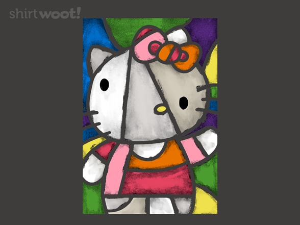 Hello Picasso Kitty T Shirt