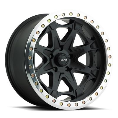 882 Beadlock 17X8.5 5X5 -12MM 40 Lbs Matte Black Aluminum Wheels 882 Offroad Beadlock Series REV Wheels 882B-7857312