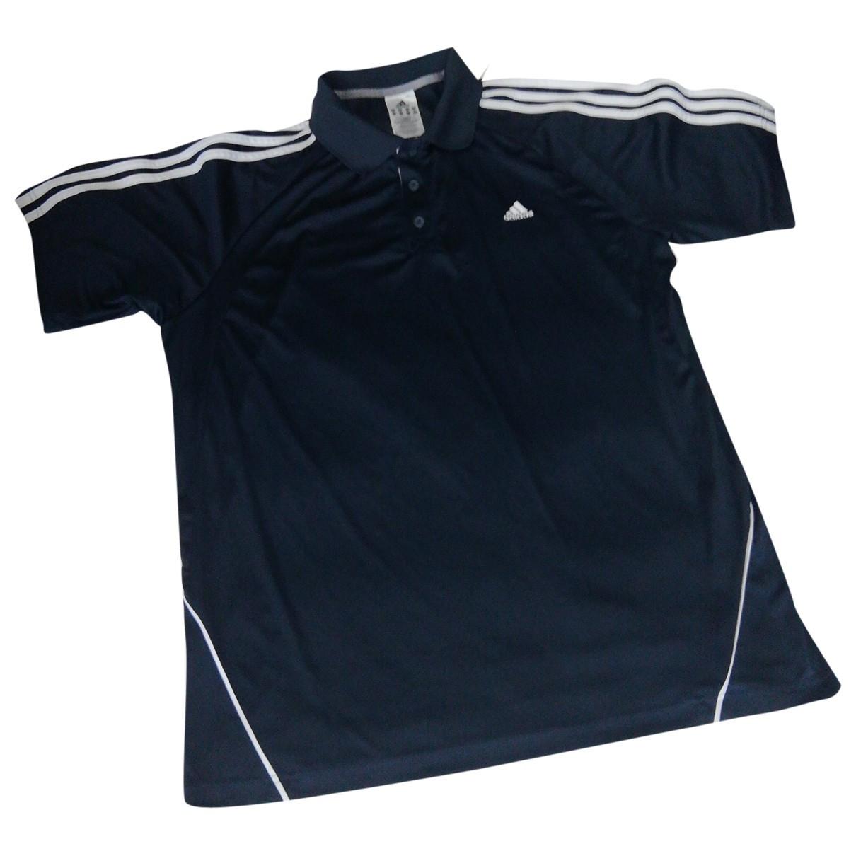 Adidas \N Poloshirts in  Blau Polyester