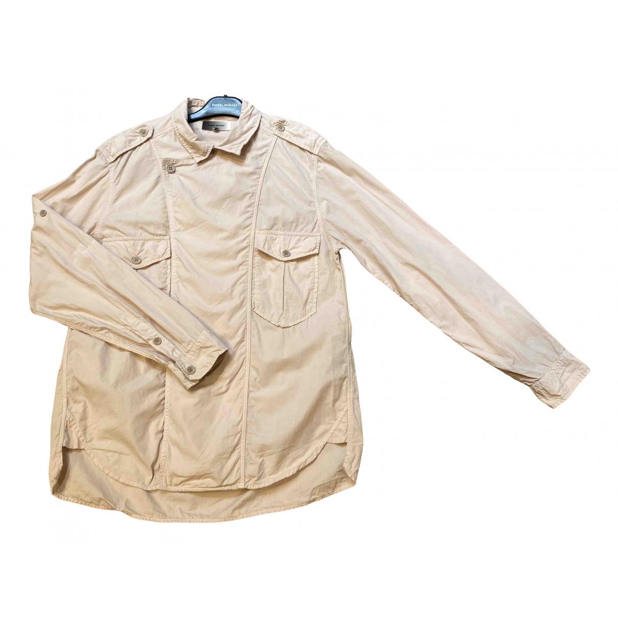 Isabel Marant - Chemises   pour homme en coton - rose