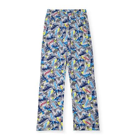 Little & Big Boys Fleece Pajama Pants, X-small (6-7) , Blue