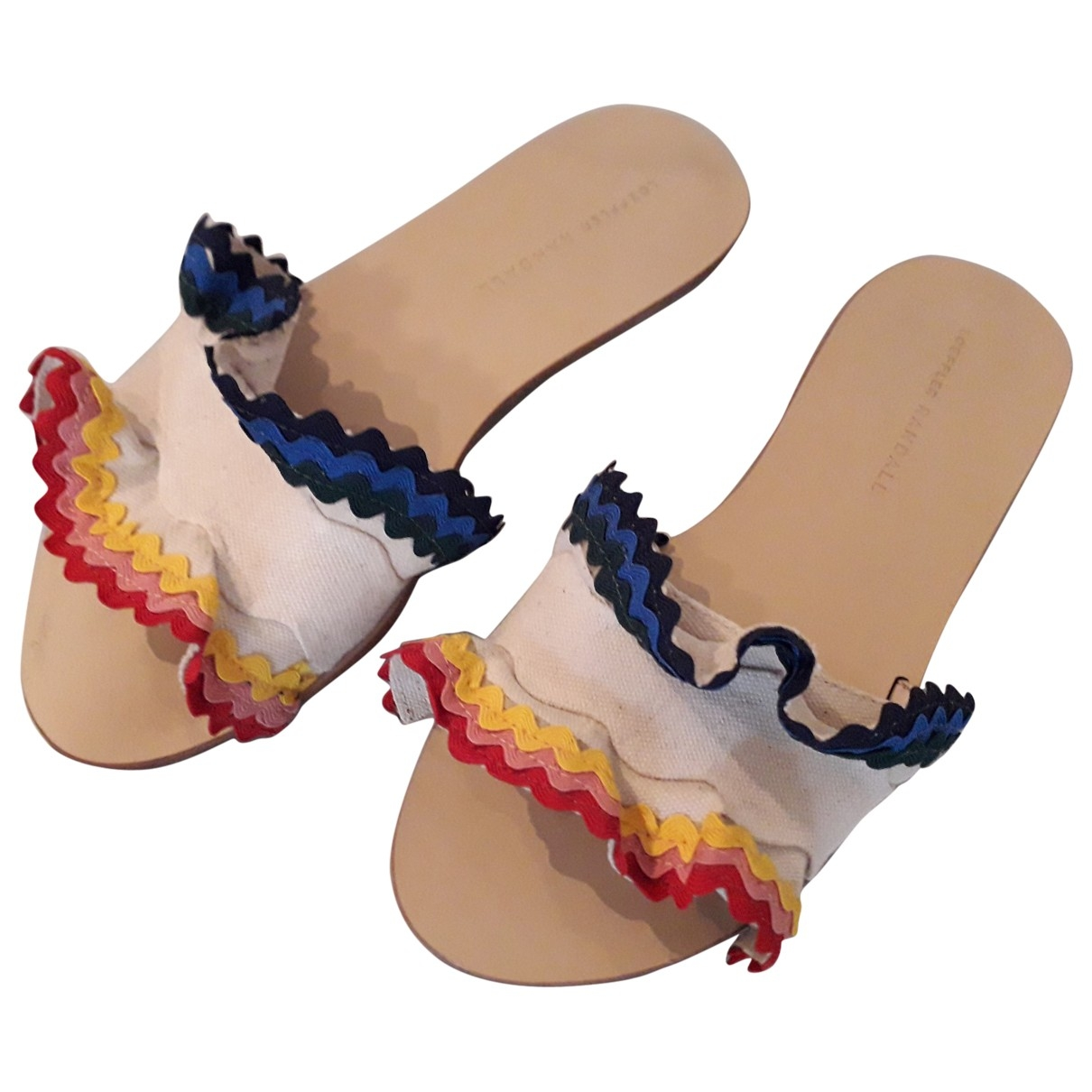 Loeffler Randall \N Multicolour Leather Sandals for Women 38 EU