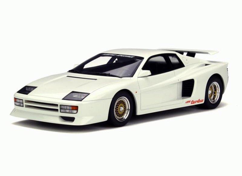 Ferrari Testarossa Koenig Twin Turbo White Limited Edition 1/18 Model Car by GT Spirit for Kyosho