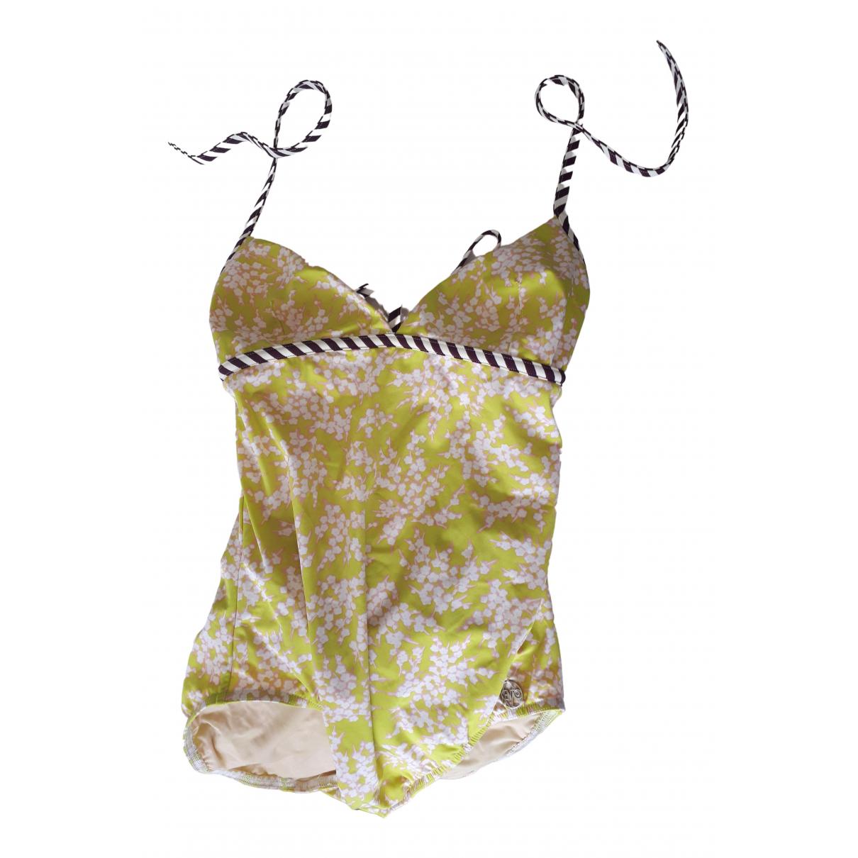 Kenzo - Bain   pour femme en coton - elasthane - jaune
