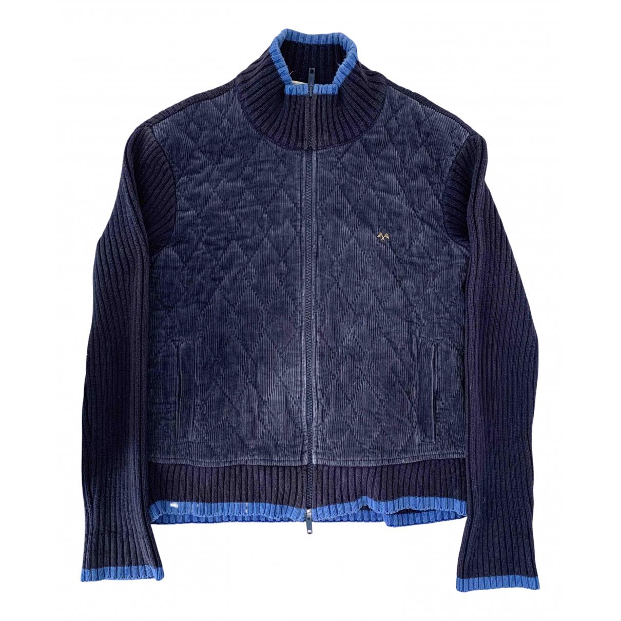 Burberry - Vestes.Blousons   pour homme en coton - bleu
