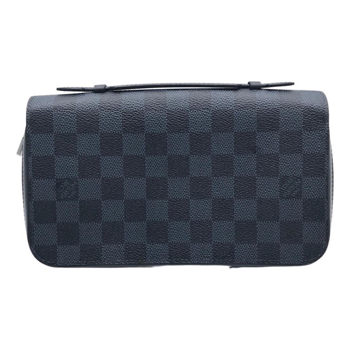 Louis Vuitton Zippy XL Black Cloth Small bag, wallet & cases for Men N