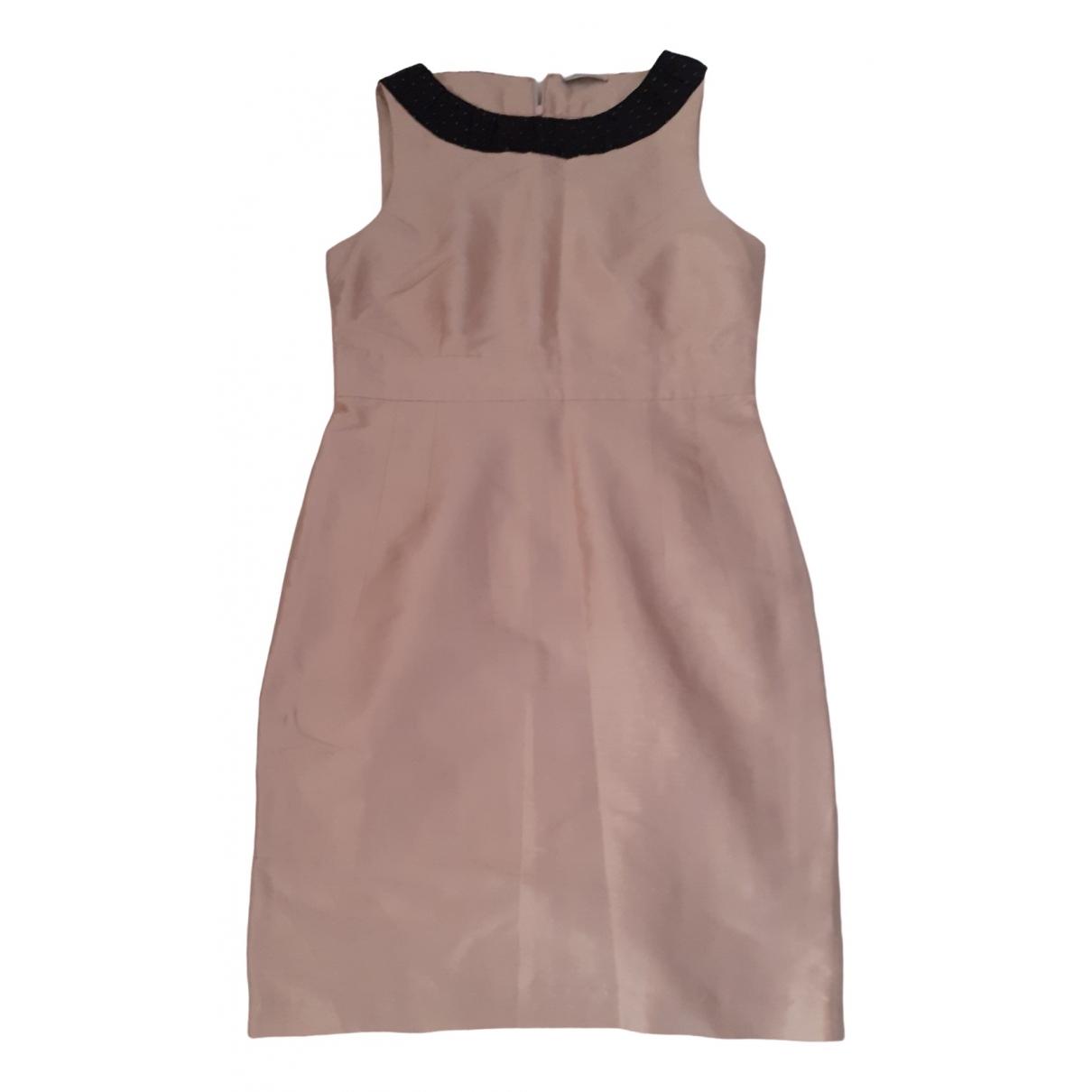 Max & Co \N Kleid in  Rosa Seide