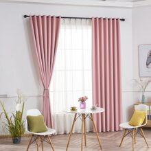 Einfarbiger Vorhang 1 Stueck