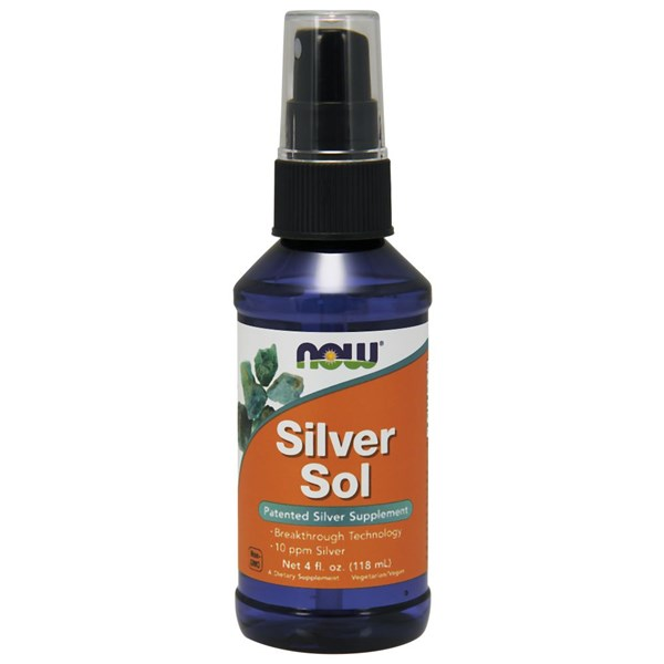 Silver Sol 4 oz by Now Foods