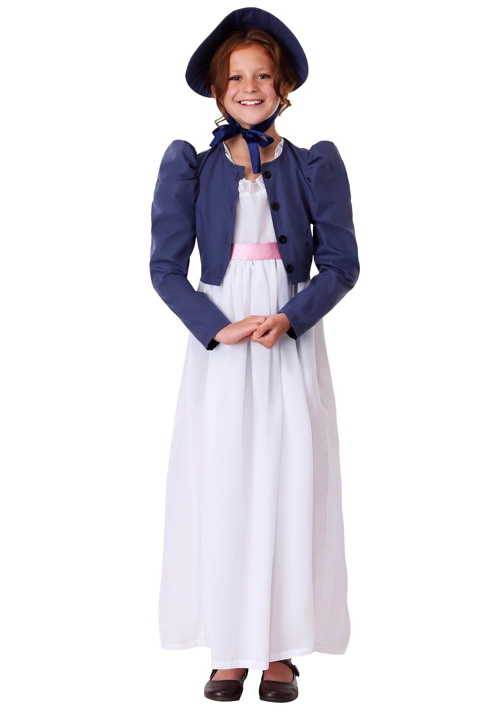 Jane Austen Girls Costume