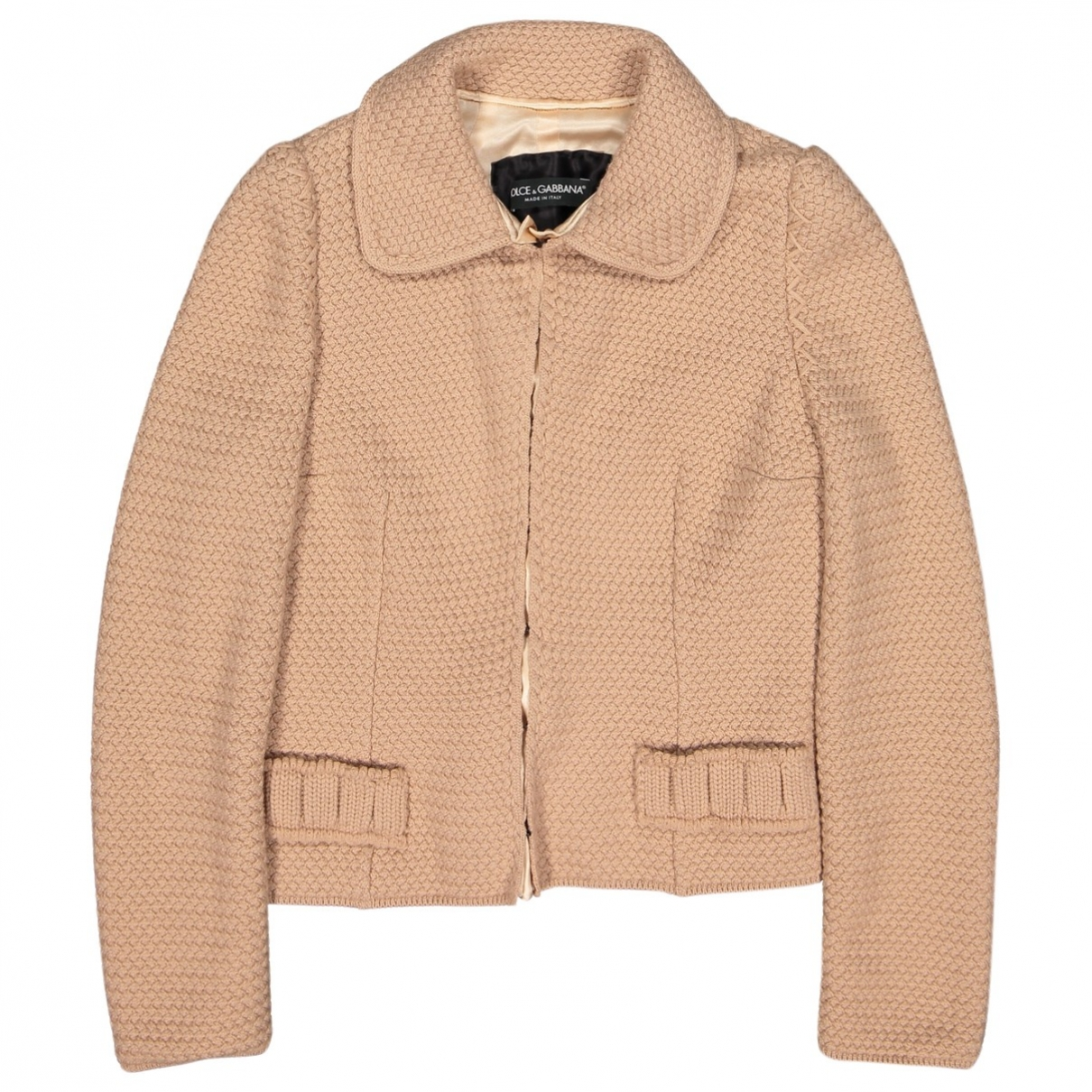 Dolce & Gabbana \N Pullover in  Beige Wolle