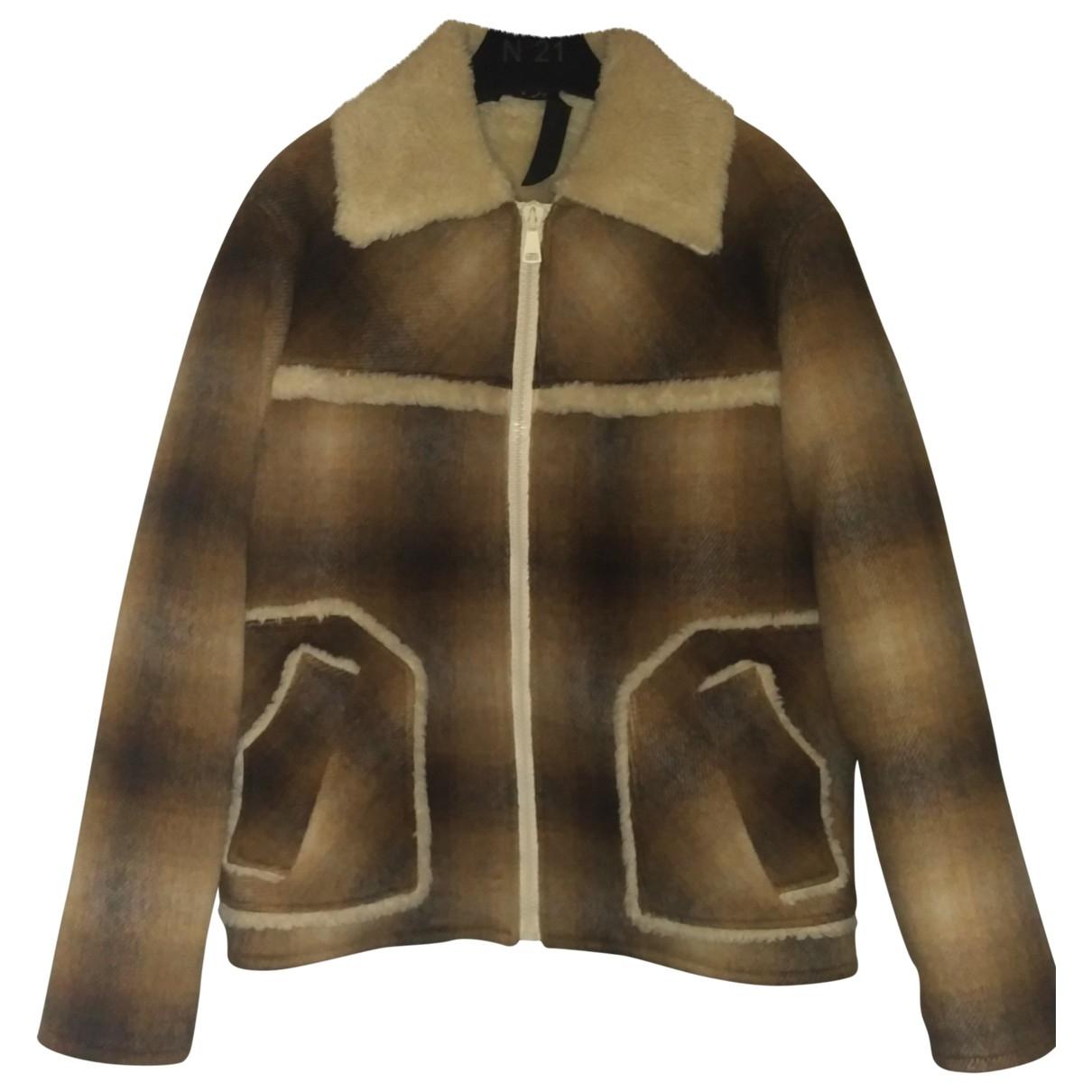 N°21 \N Brown jacket  for Men 48 IT