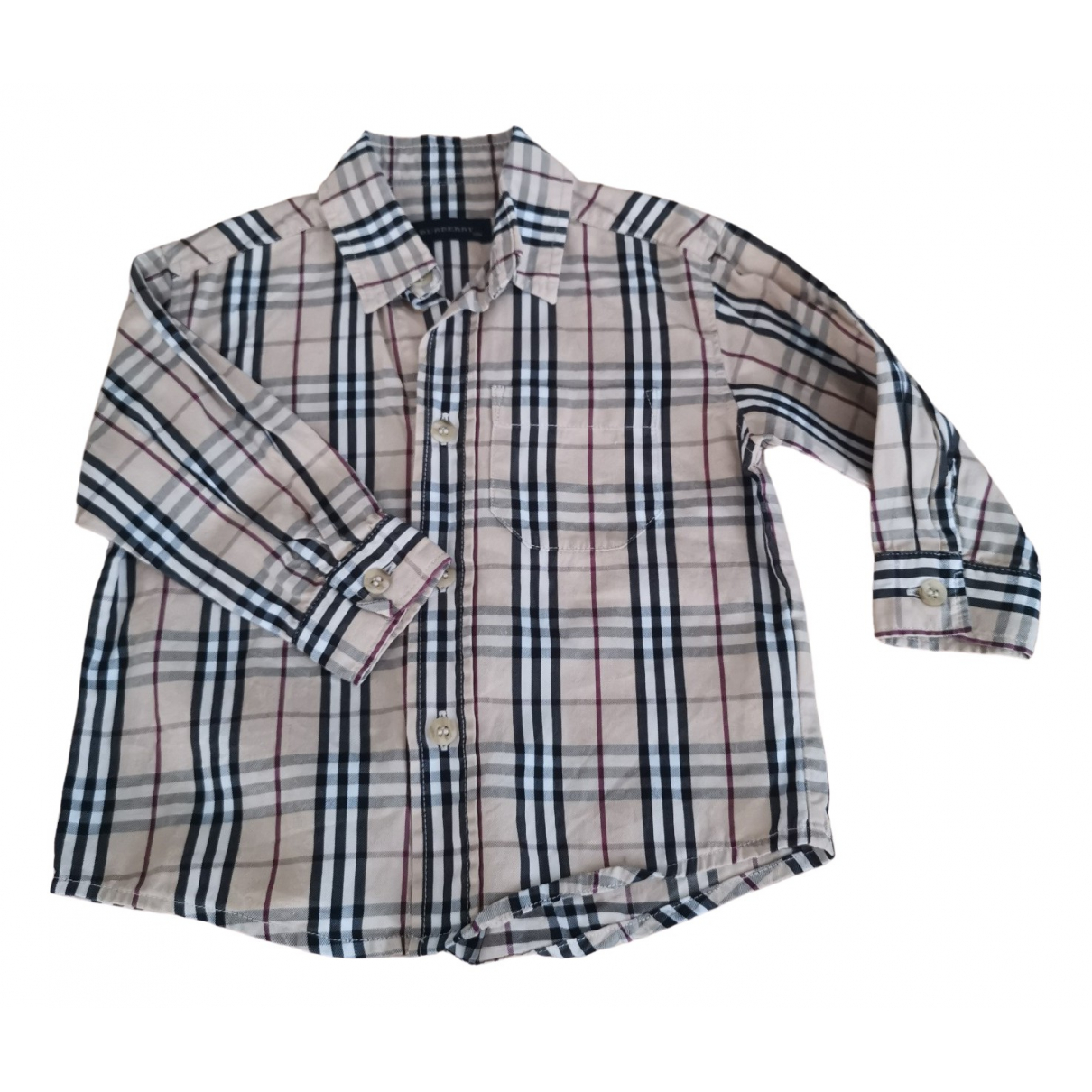 Burberry \N Brown Cotton  top for Kids 12 months - until 29 inches UK