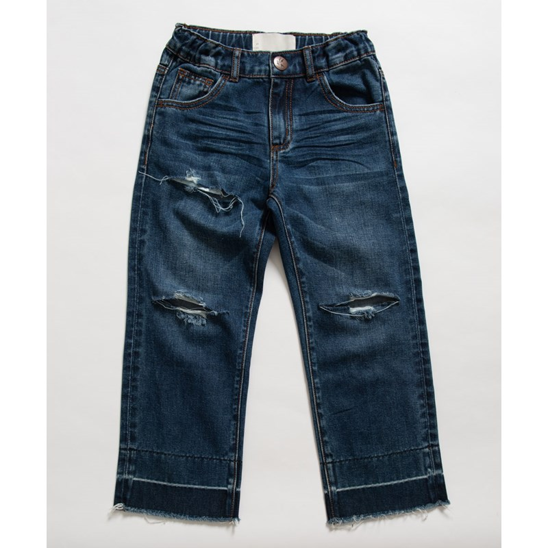KIDS BLUE MOON HOOLIGANS LOW WAIST RELAXED STRAIGHT LEG JEAN