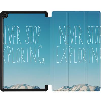 Amazon Fire 7 (2017) Tablet Smart Case - Never Stop Exploring von Leah Flores