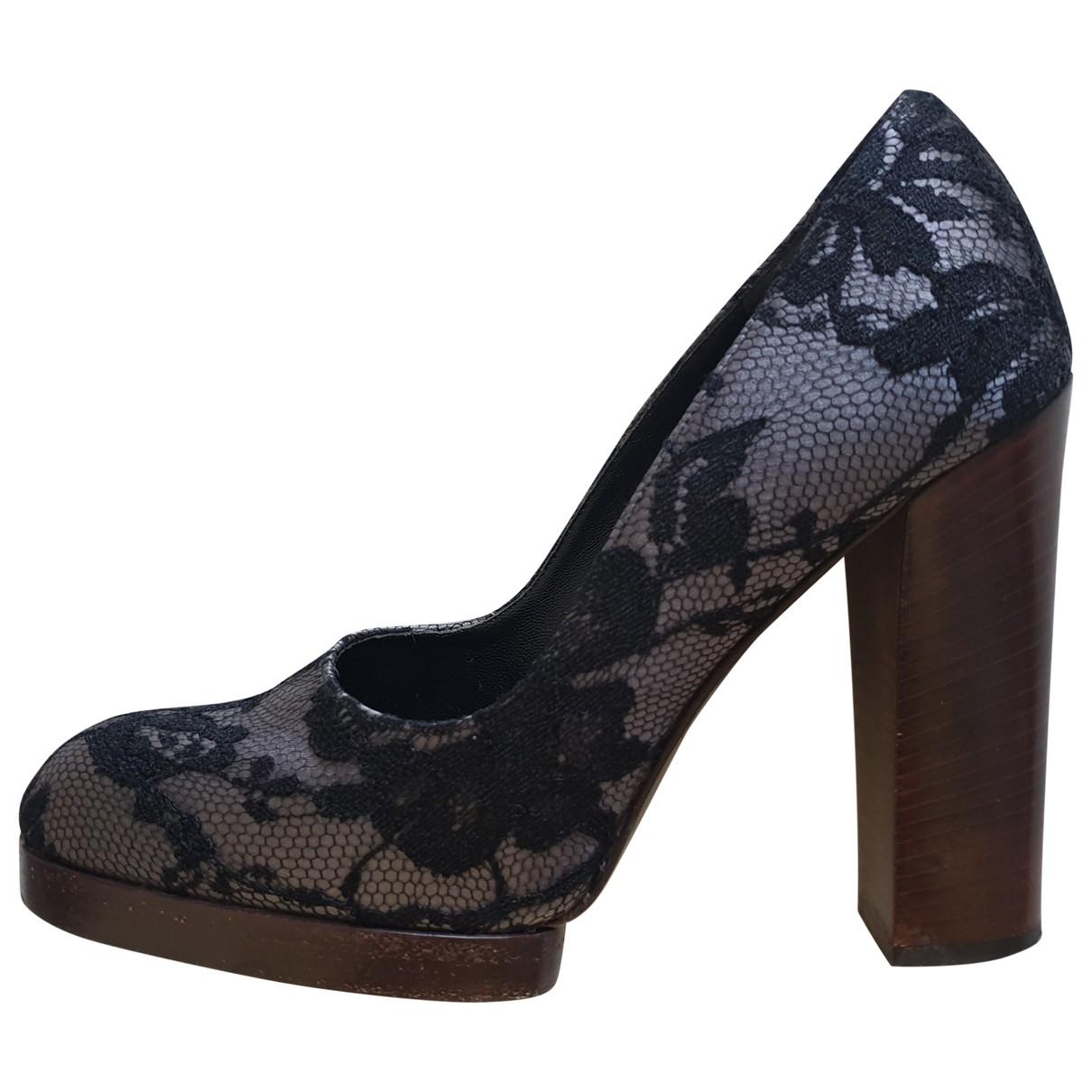 Gucci - Escarpins   pour femme en toile - gris