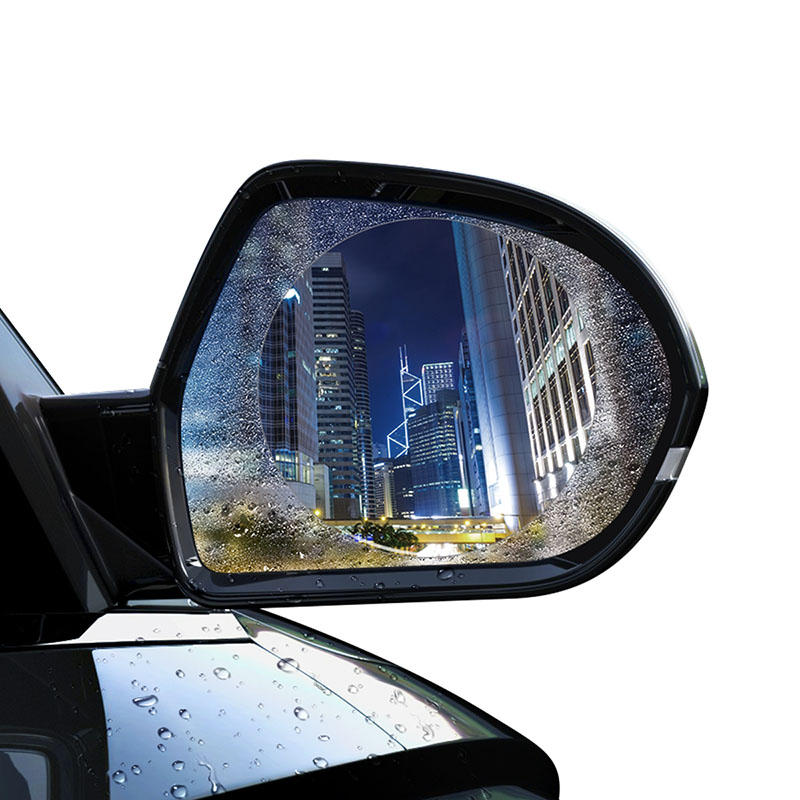 Baseus Car Mirror Rain Film Anti-glare Dust-free for Safe Driving
