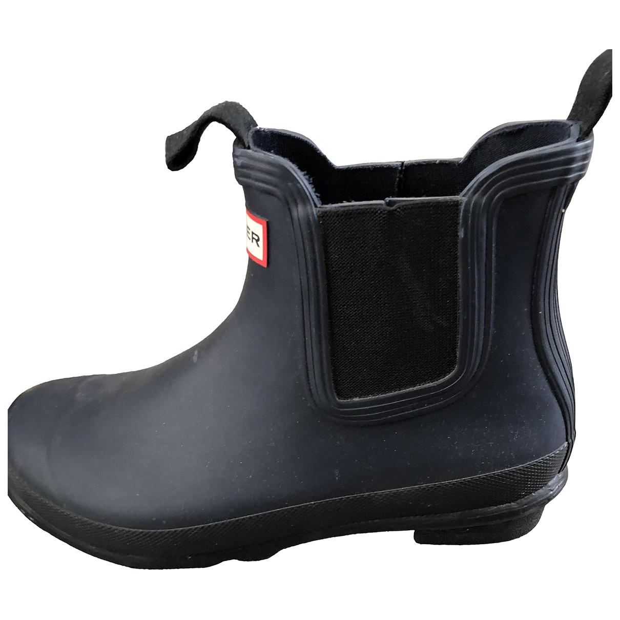 Hunter \N Blue Boots for Women 39 EU