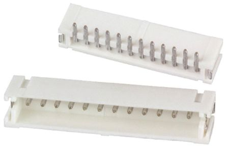 JST , ZH, 12 Way, 1 Row, Top Entry PCB Header (10)