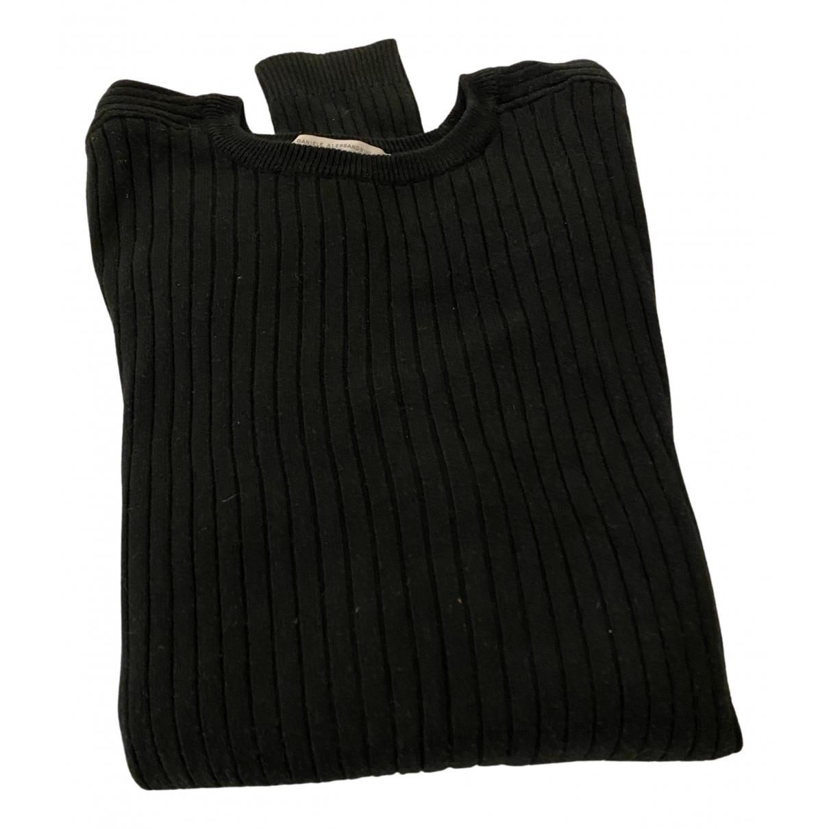 Alessandrini \N Pullover.Westen.Sweatshirts  in  Schwarz Wolle