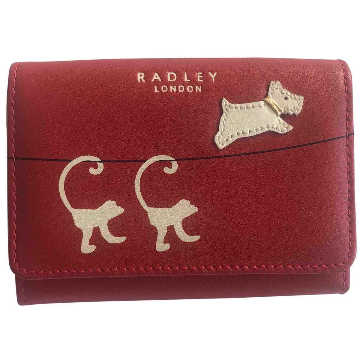 Radley London - Petite maroquinerie   pour femme en cuir - rouge